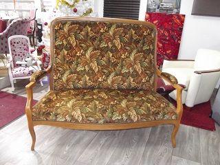 Denis launay tapisserie d coration fauteuil chaise clous bronze - Tissu imitation cuir vieilli ...